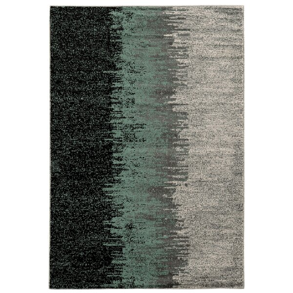 Arris Blue/Grey Area Rug by Trent Austin Design
