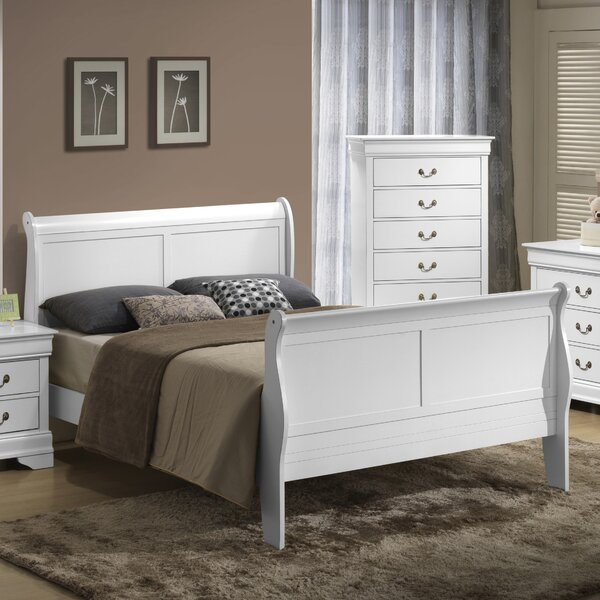 Guffey Sleigh Bed by Laurel Foundry Modern Farmhouse