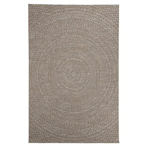 Farley Brown Indoor/Outdoor Area Rug