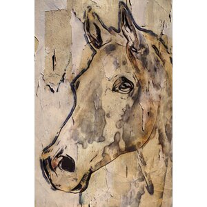 'Winner Horse' by Irena Orlov Painting Print on Wrapped Canvas by Marmont Hill