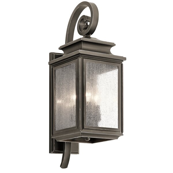 Wiscombe Park 3-Light Outdoor Wall Lantern by Kichler