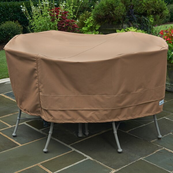 Round Table Cover by Freeport Park