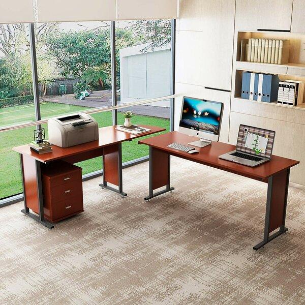 Lou Reversible L-Shaped Credenza Desk