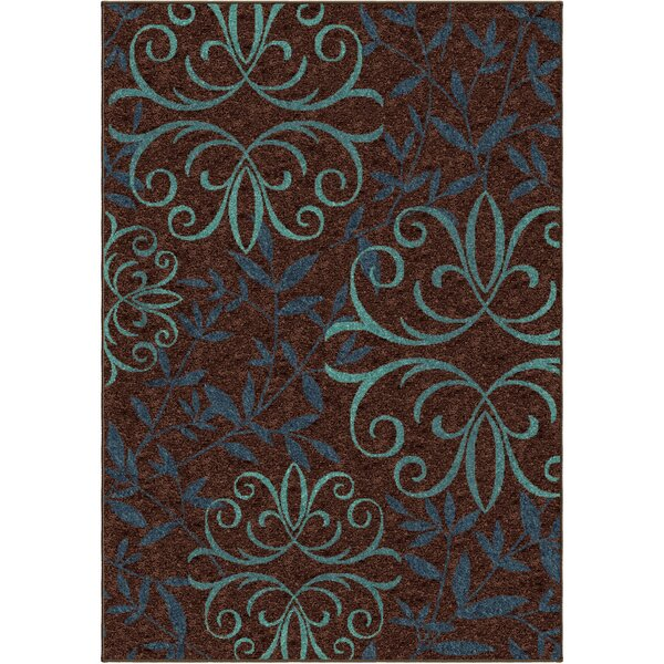 Simon Brown Indoor/Outdoor Area Rug by Threadbind