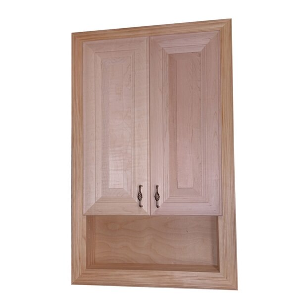 Brookside 22.75 W x 35.5 H Recessed Cabinet by WG Wood Products