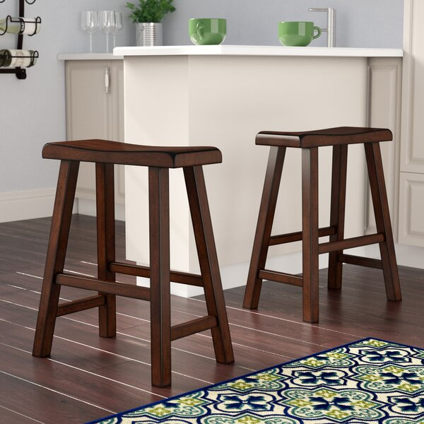 Bates 29 Bar Stool (Set of 2) by Andover Mills