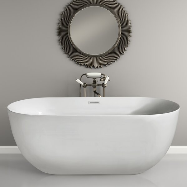 67 x 23.6 Freestanding Soaking Bathtub by Wildon Home ®