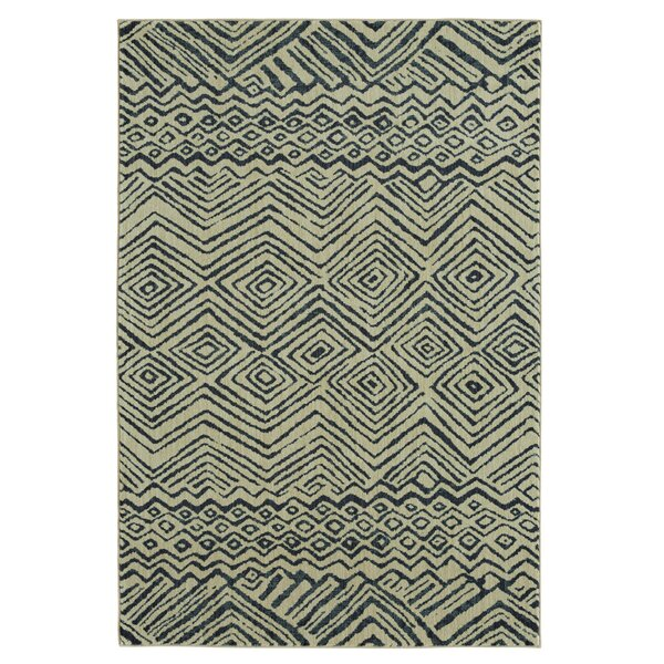 Mohawk Studio Mnemba Indigo/Beige Area Rug by Under the Canopy