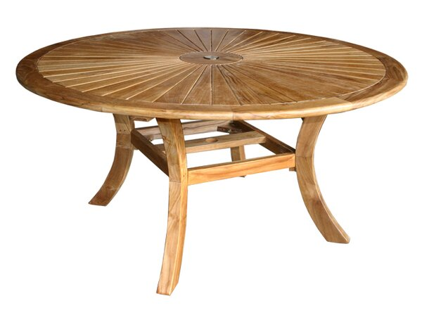 Teak Dining Table by Darby Home Co
