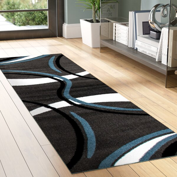 Dermott Gray/White Area Rug by Zipcode Design