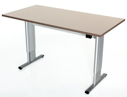 Infinity Height Adjustable Training Table by Populas Furniture