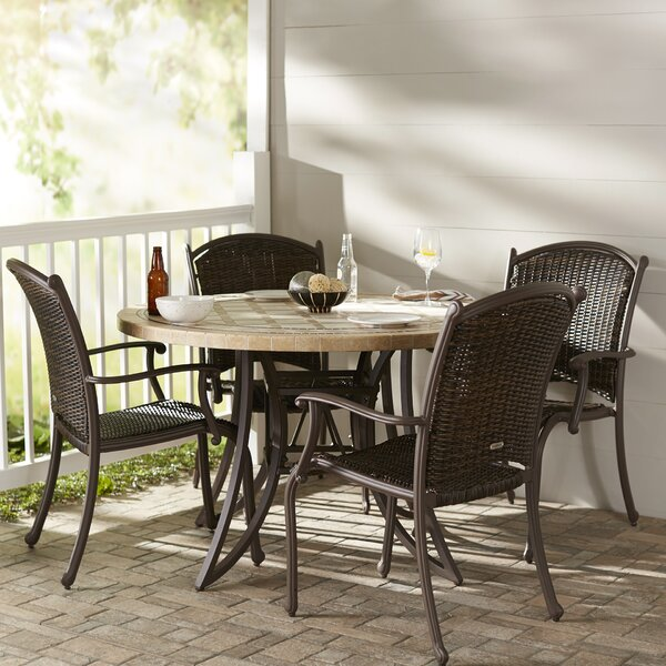 Colucci 5 Piece Dining Set by Darby Home Co