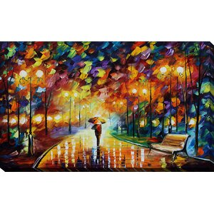 Reincarnation by Leonid Afremov Painting Print on Wrapped Canvas by Picture Perfect International