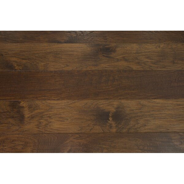Sydney 7-1/2 Engineered Hickory Hardwood Flooring in Almond by Branton Flooring Collection