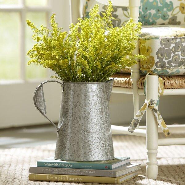 Galvanized Metal Pitcher Pot Planter by Birch Lane™