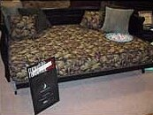 Pulsar 8 Memory Foam Futon Mattress by Otis Bed