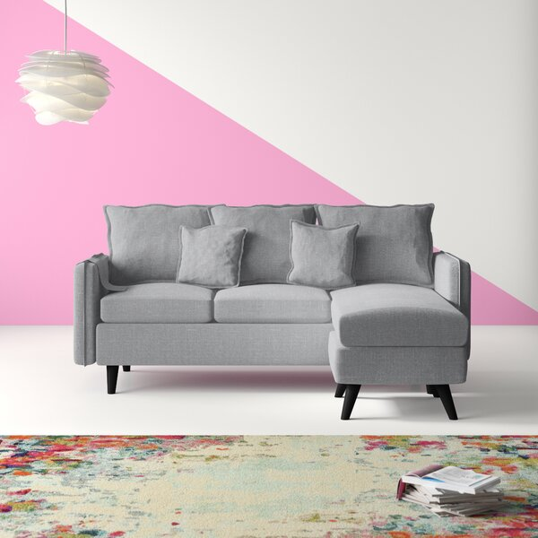 Fletcher Classic Small Space Reversible Sectional by Hashtag Home