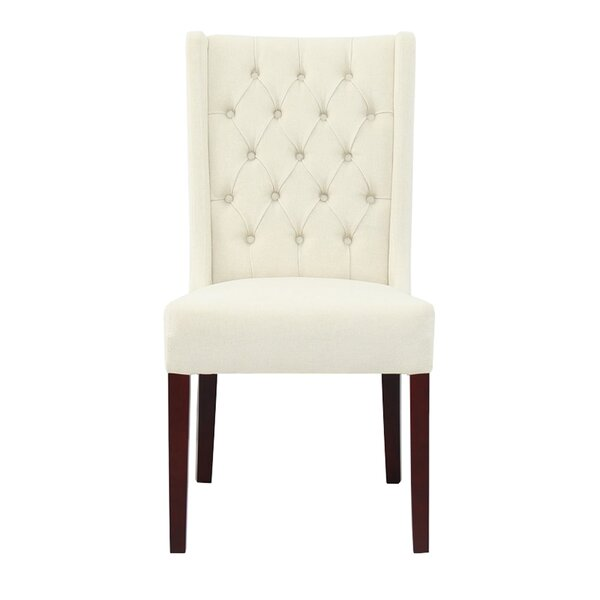 Selma Tufted Upholstered Dining Chair (Set of 2) by Charlton Home