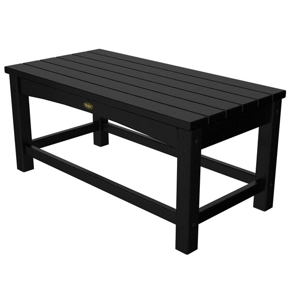 Rockport Club Plastic/Resin Coffee Table by Trex Outdoor