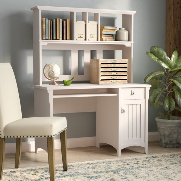 Ottman Computer Desk with Hutch by Lark Manor