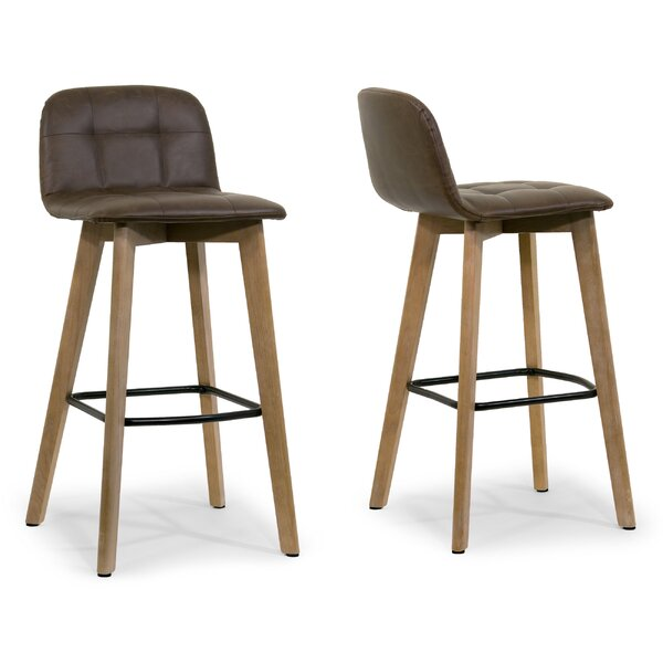 27.5 Bar Stool (Set of 2) by Glamour Home Decor