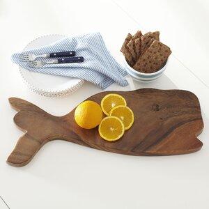 Whale Acacia Cutting Board