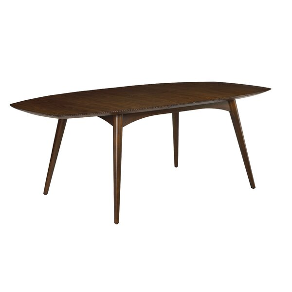 Kelemen Extendable Solid Wood Dining Table by Bayou Breeze