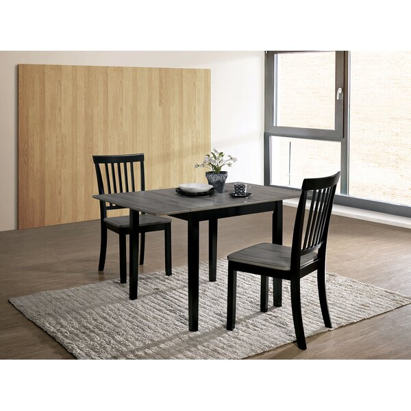 Shala 3 Piece Drop Leaf Dining Set by Red Barrel Studio