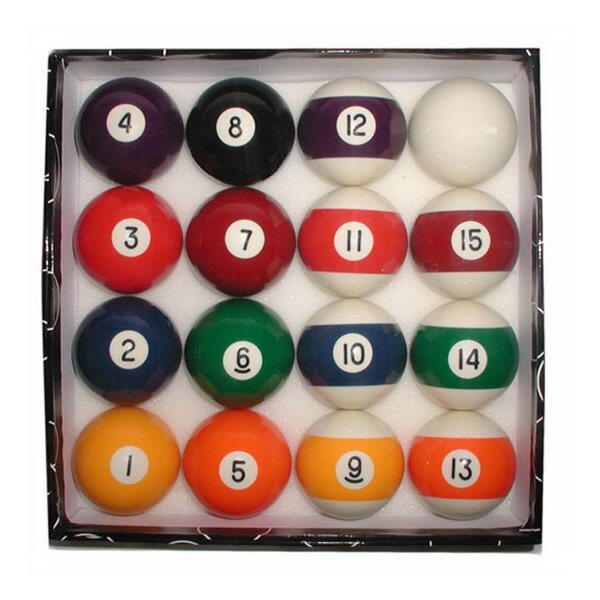 Deluxe Pool Ball Set by Trademark Games