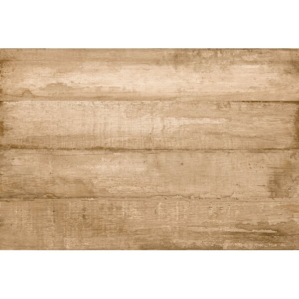 Timber Glazed Porcelain Wood Look Tile in Brown by Multile