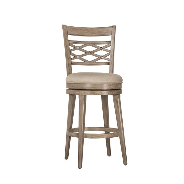 Healdton 26 Swivel Bar Stool by Loon Peak