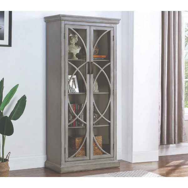 Basso Curio Cabinet by Darby Home Co