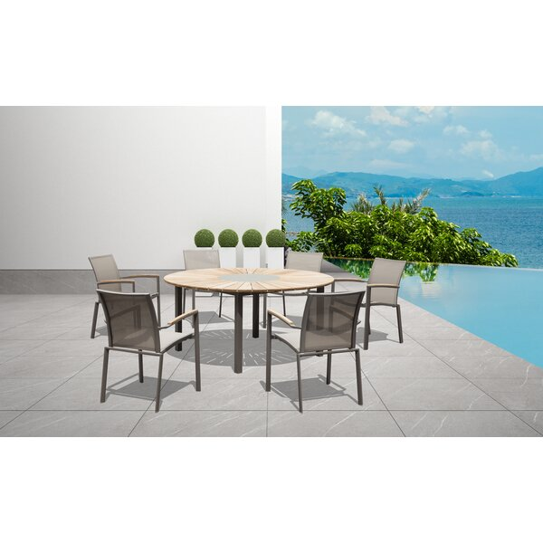Kate Solid Wood Dining Table by Longshore Tides