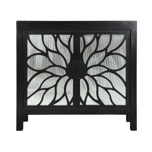 Ketaki 2 Door Accent Cabinet by World Menagerie World Menagerie