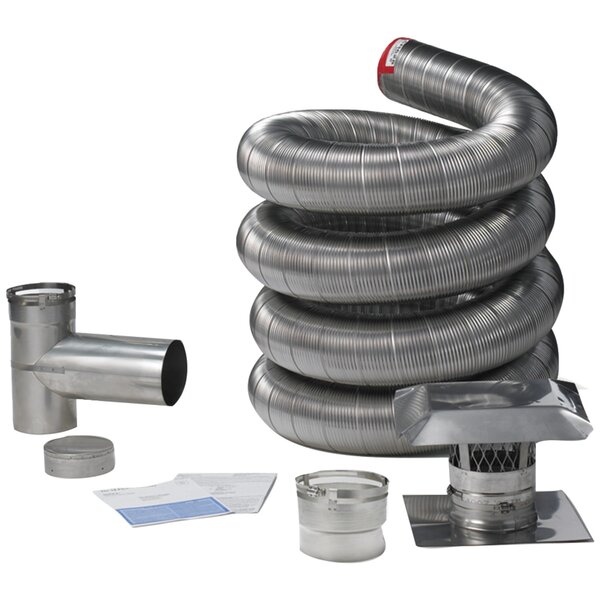 Universal Steel Venting Kit by Shelter Pro