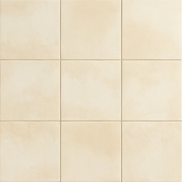 Poetic License 18 x 18 Porcelain Field Tile in Cotton by PIXL
