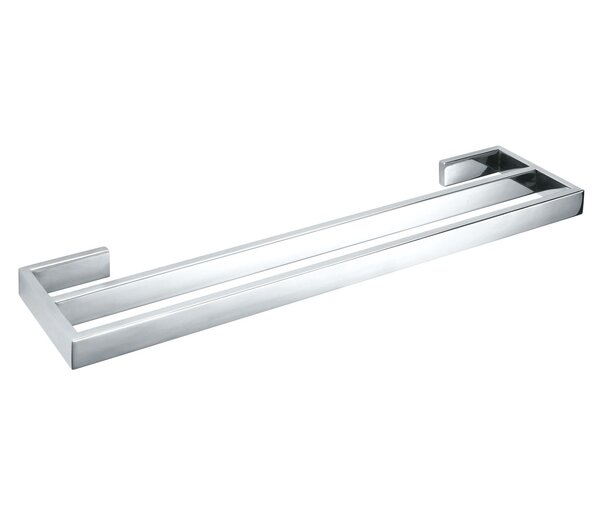 23.5 Wall Mounted Double Towel Bar by UCore