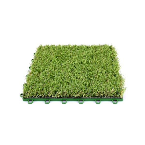 Artificial Grass 12'' x 12'' Plastic Interlocking
