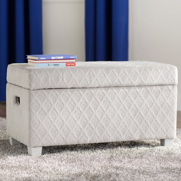 Rosen Fabric Storage Bench by Viv + Rae