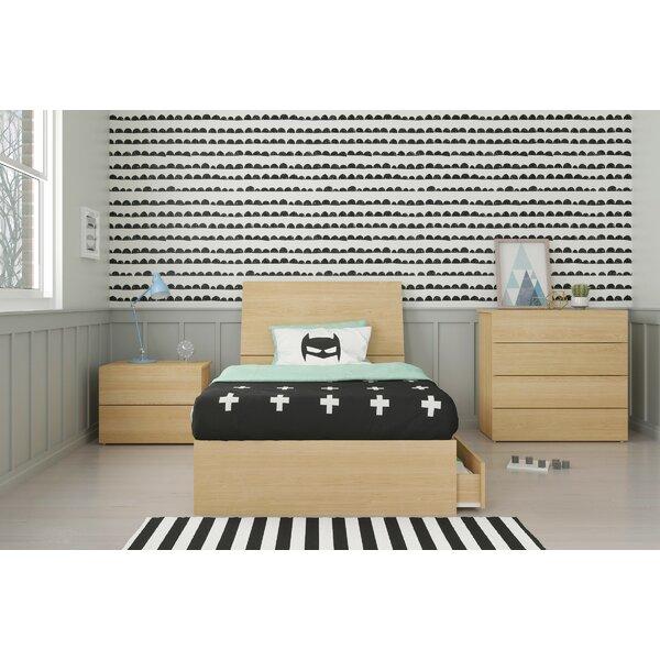 Lawrenceville Twin Platform 3 Piece Bedroom Set by Ebern Designs