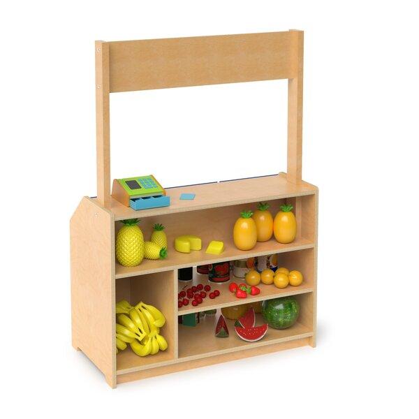 Holyfield Preschool Market Standard Bookcase by Zoomie Kids