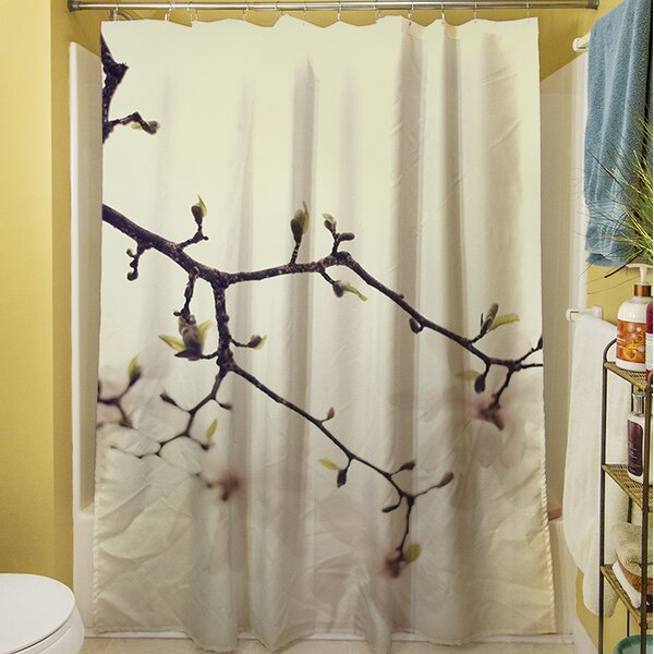 The Soft Explosion Shower Curtain by Manual Woodworkers & Weavers