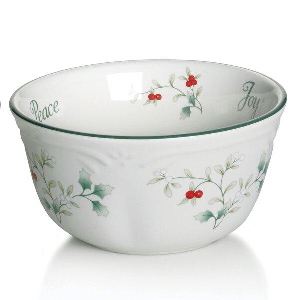Winterberr 12 oz. Sentiment Dessert Bowls (Set of 2) by Pfaltzgraff