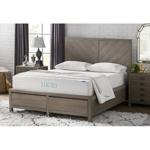 12 Medium Gel Memory Foam Mattress by Lucid