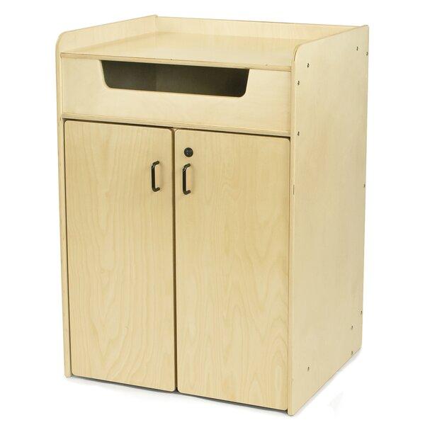 2 Door Storage Accent Cabinet by Jonti-Craft