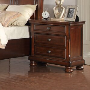 American Heritage 2 Drawer Nightstand ..