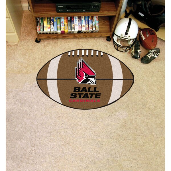 NCAA Ball State University Football Doormat by FANMATS