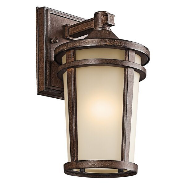 Harvey 1-Light Outdoor Wall Lantern by Darby Home Co