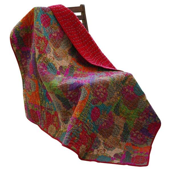 Jordan Cotton Throw Blanket by World Menagerie