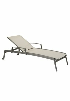 Elance Reclining Chaise Lounge by Tropitone